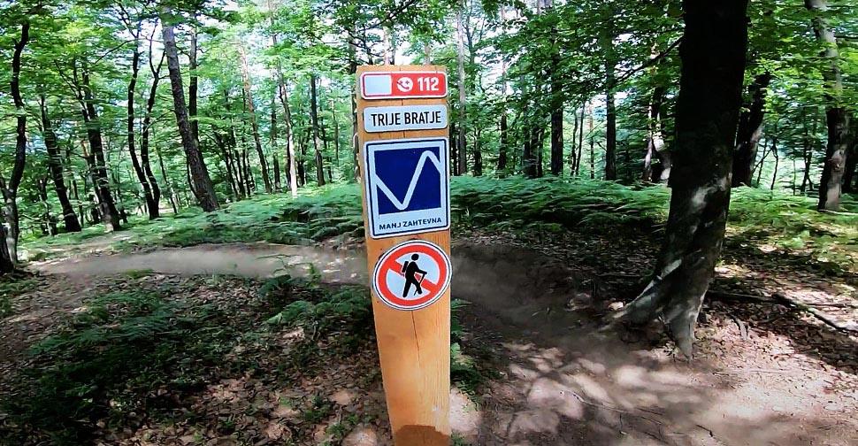 Golovec trails