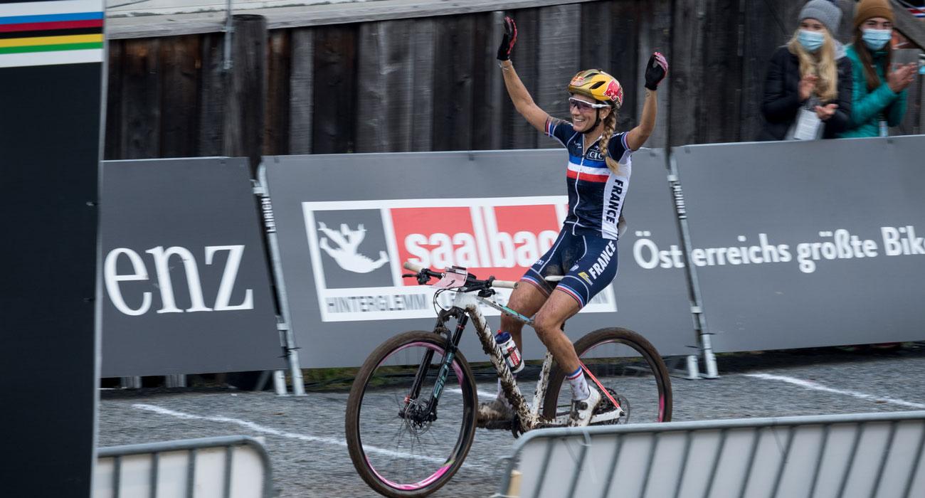 Leogang, svtovno prvenstvo, Pauline Ferrand Prevot
